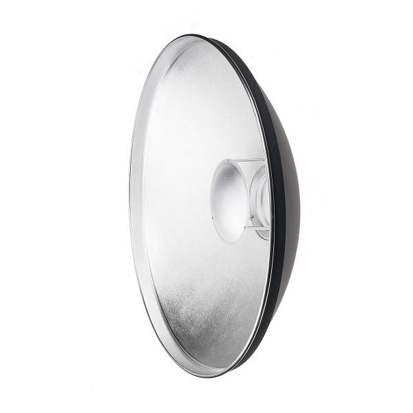 PRIOLITE Beauty Dish innen silber - Durchmesser ca. 22 inch (55 cm)