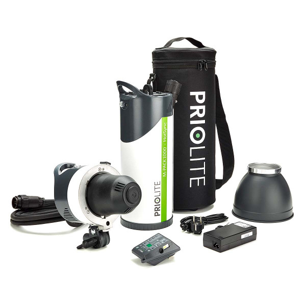 PRIOLITE M-PACK 1000 Hot Sync Generator Kit Buddy Nikon
